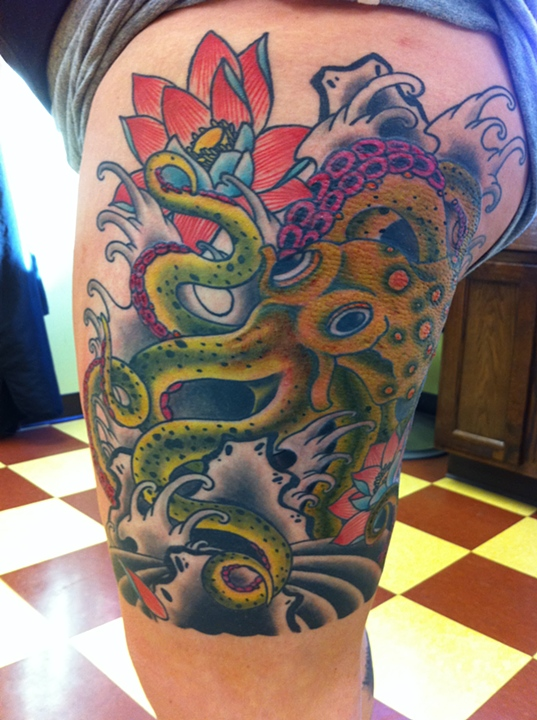 Tattoo by Sam Phillips